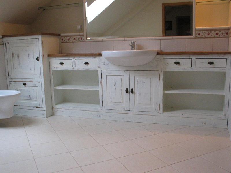 łazienka W Drewnie Rustykalne Kuchnie I Stylowe Meble